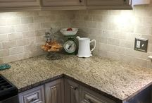 kitchen counter/tile selections