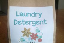 Organic homemade laundry soap and cleaning supplies / by Trisha Stanley