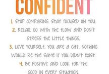 Building Confidence in Women / An inspirational board just for women, to help them build their confidence and self-worth.  You will find tips, quotes, and stories  that you can relate to.  www.thefemininexperience.ca