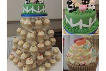 Wedding Cakes / A variety of beautiful wedding cakes and cupcake towers.