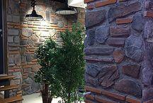 Duvar taş kaplama dekor