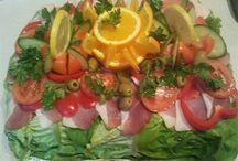 saláták, hidegkonyha