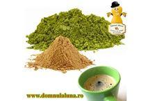 Domnul Aluna - Cafea Verde pentru slabit / www.domnulaluna.ro