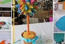 Beachy wedding shower favors