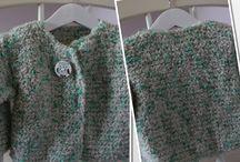 Création tricot bebe