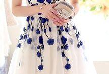 kanzashi šaty