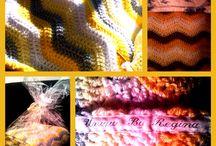 *Unique By Regina* / Zelf ontworpen en hand gemaakte dekens.