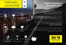 Freight forwarder / A Freight Forwarder is a Business Partner that saves money and time.
