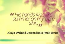 Descendants (Wak Series)