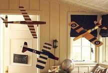 Jackson's bedroom / Ceiling Decoration