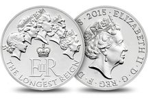 The Longest Reign / On 9 September 2015, Her Majesty The Queen will become Britain's longest-reigning monarch, beating Queen Victoria's record of 63 years and 216 days. / by The Royal Mint