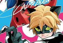 Lady Bug et Chat Noir