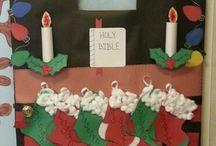 preschool christmas boards