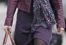 fialové kombinace
