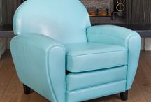 Style Game with the Christopher Knight Home Home Oversized Teal Blue Leather Club Chair. / Every week we ask Pinners to create a room around an inspiration piece from the Christopher Knight Home Collection. This week the inspiration is the Christopher Knight Home Oversized Teal Blue Leather Club Chair.  Message us your pins or leave a comment under the inspiration piece and we'll add your pin to our board!