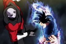 Jiren vs Goku n vegeta