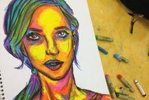 Oil pastel ideas