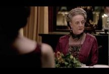 Obsessed with Downton  / We love Downton Abbey, too.