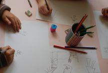 Micii ilustratori de povesti ! workshop de carte pentru copii