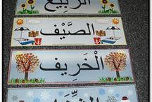 Cuatrilingües tropicultores, árabe