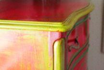 pintado muebles