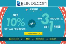 Blinds Coupon Codes / Blinds.com, the #1 retailer of blinds and shades in the world. Blinds.com provides a complete variety of visors & shades of quality material including aluminum blinds, bamboo/woven shades, exterior shaded, fabric draperies, plantation shutters, sheer, roman shades & many more, to lighten up or darken your room with 100% Money Back Guarantee.for more deals visit: http://www.couponcutcode.com/stores/blinds/