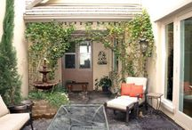 Courtyard, Outdoor Living, Landscaping / Ideas for new home with Courtyard / by Rachel