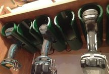 Brian's garage organization ideas / by Jennifer Hackett