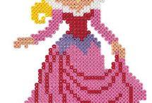 Pärlplatta princessa