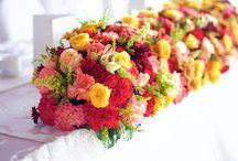 Decoratiuni colorate botez IssaMariage