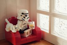 A day in the life of a Stormtrooper / Rebel scum!