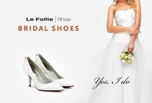 Bridal Wedding Shoes SS16 / Bridal & Wedding Shoes In this section Follie Shop offers you top brand Bridal & Wedding Shoes! Be inspired by the best brands, choose the shoes you want and receive them comfortably at home. Enjoy your special day with the quality guaranteed by our brands! They'll make you feel elegant and sophisticated. Wedding shoes are the most important accessory for every ceremony.