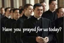 CF - PRAY FOR OUR PRIESTS / Prayer for our Priests and images of our Superheroes in action.  Please pin with discernment and help reduce duplicate pins. / by CatholicFeast