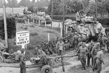 Normandy 1944 road sings