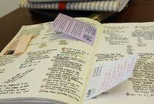 Journals / by McKella Sawyer