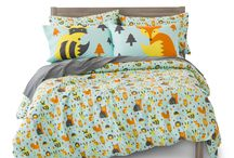 Kid's Room / Lively, fun, soft, and modern. Kid's bedding to fill your home with love.  www.wherethepolkadotsroam.com