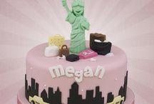 New York cake theme