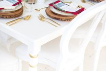 Party. tablescapes / by Christine Shankowsky