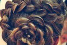 hår  stil