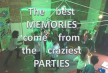 Party Quotes / Quotes about parties, childhood and life... Citações sobre festas, infância e a vida... #party #quotes #just4teens