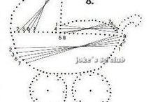kočík schéma fonalgrafika