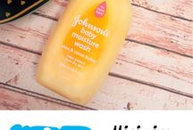 Johnson's® Baby Hacks / Fun and easy alternative usage ideas for Johnson's® Baby products (sponsored)   Thanks to Johnson's® for working with us on this sponsored Pinterest board.
