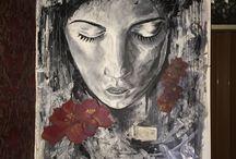 Portrait on wall