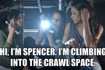 Pretty Little Liars / Funny quotes from PLL