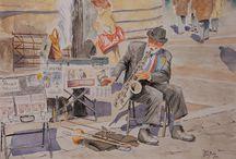 Watercolor Paintings / Suluboya resimler