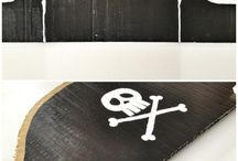 Pirate Crafts / Piratical Craft Ideas