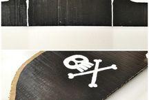 Pirate Crafts / Piratical Craft Ideas