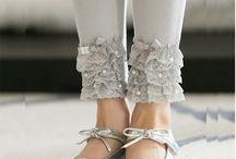 Legging kombinasi