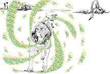 Ilustraciones vector
