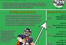 Infographics / Visual representations of #NFL history.